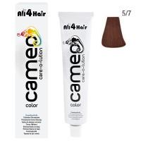 LOVE FOR HAIR Professional cameo color care-o-lution 5/7 hellbraun braun 60 ml