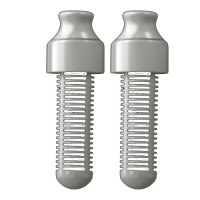 Water Bobble Filter-Doppelpack Grau