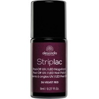 alessandro International Striplac 26 Velvet Red 8 ml