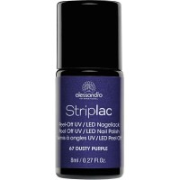 alessandro International Striplac 67 Dusty Purple 8 ml