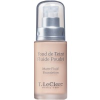 T. LeClerc Matte Fluid Foundation 01 Ivoire 30 ml