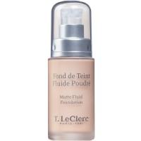 T. LeClerc Matte Fluid Foundation 02 Clair Rosé 30 ml