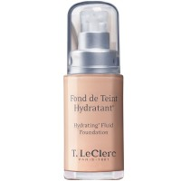 T. LeClerc Hydrating Fluid Foundation 01 Ivoire 30 ml