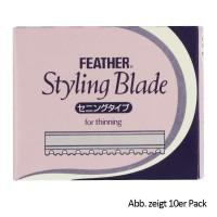 Feather Thinning Klingen 5x10 Stück