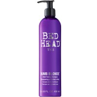 Tigi Bed Head Dumb Blonde Purple Toning Shampoo 400 ml
