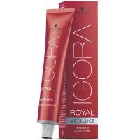 Schwarzkopf Igora Royal Metallics 6-28 Dunkelblond Asch Rot