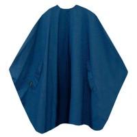 TREND DESIGN Classic Haarschneideumhang Marineblau