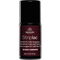 alessandro International Striplac 24 Shiny Aubergine 8 ml