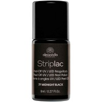 alessandro International Striplac 77 Midnight Black 8 ml