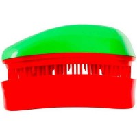 Dessata Entwirrungs-Taschenbürste green/cherry