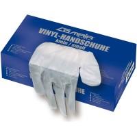 Comair Vinyl-Handschuhe gepudert klein 100er Box