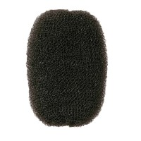 Comair Haarvollunterlage schwarz 7 x 11 cm