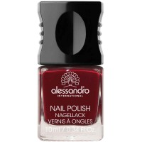 alessandro International Nagellack 54 Midnight Red 10 ml