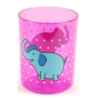 Solida Kinderbecher Elefant, pink