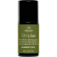 alessandro International Striplac 66 Martinis Olive 8 ml