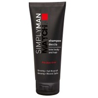 Simply Man Hair & Body Shampoo 200 ml