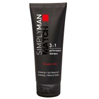 Simply Man 3 in 1 Shampoo 200 ml