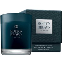 Molton Brown HOME Black Leather Accord & Cade Single Wick