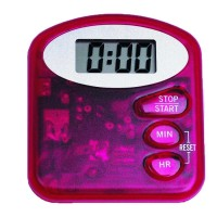 Efalock Digital-Timer rot