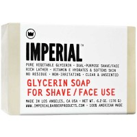 Imperial Barber Products Glycerin Shave/Face Soap 183 ml Bar