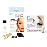 GODEFROY Instant Eyebrow Tint Light Brown + Double Lash & Brow