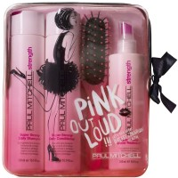 Paul Mitchell Pink Out Loud! Super Strong Set