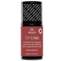 alessandro International Striplac Mina's Marsala Effekt 8 ml
