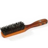 Braun & Wettberg Haarbürste mit 100% Naturborsten, braun