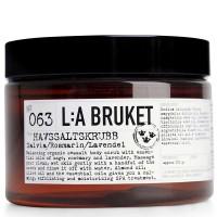 L:A BRUKET No. 63 Salt Scrub Salbei/Rosmarin/Lavendel 250 ml