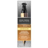 John Frieda Brilliant Brunette Lighter Glow Anwendung 34 ml