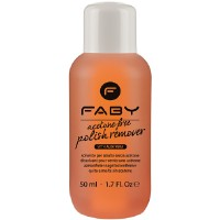 FABY Acetone free Polish Remover 50 ml