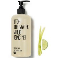 Stop the water while using me! All natural Cucumber Lime Soap 200 ml