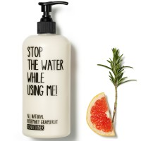 Stop the water while using me! All natural Rosemary Grapefruit Conditioner 500 ml
