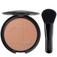 T. LeClerc Blush Bronzing Powder & Mini Brush
