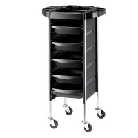 "Hairforce Stummer Diener ""Assistance"" H90/B36,5/T 36,5 cm, schwarz, 5 Arbeitskästen"