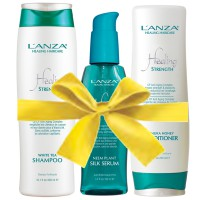 Lanza Geschenkset Healing Strength mit gratis Conditioner & Kosmetitasche