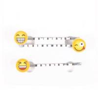 Solida Haarklemme Emoji 3 Stück