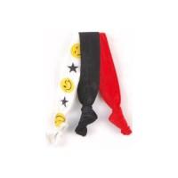 Solida Zopfhalter, Loop Emoji Smile 3 Stück
