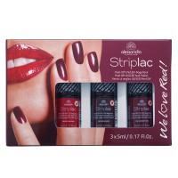 Alessandro StripLac We Love Red 3er Nagellack Set