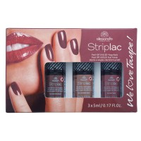 Alessandro StripLac We love Taupe 3er Nagellack-Set
