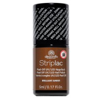 Alessandro StripLac Brillant Amber 8 ml
