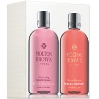 Molton Brown Intoxicating Davana Blossom + Sensual Hanaleni Bath & Showergel Set