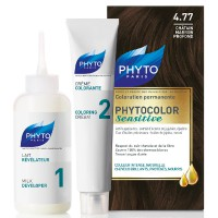 Phyto Phytocolor Sensitive 4,77 Chestnut Brown Dark Kit