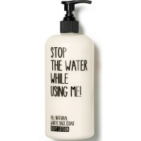 Stop the water while using me! All Natural Cosmetics White Sage Body Lotion 200 ml