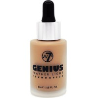 W7 Cosmetics Genius Foundation True Beige 30 ml