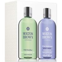 Molton Brown Wild Fairyfleur & White Sandelwood Shower Gel Duo 2x300 ml