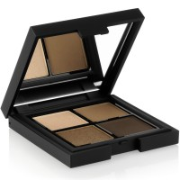 STAGECOLOR Satin Feeling Eyeshadow Quartet Brown Metallics