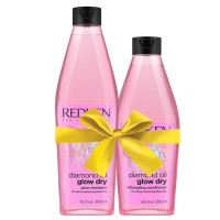Redken Diamond Oil Glow Dry Shampoo & Conditioner