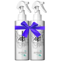 L'Oréal Professionnel tecni.art Duo Pli Thermo-Modelling Spray 2x 190 ml
