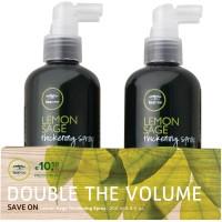 Paul Mitchell 50% OFF Tea Tree Lemon Sage Thickening Spray 2 x 200 ml